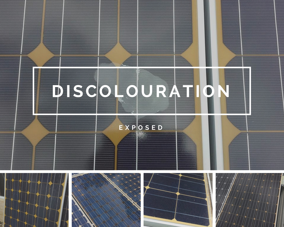 DISCOLOURATION Tier-1 Solar Panels
