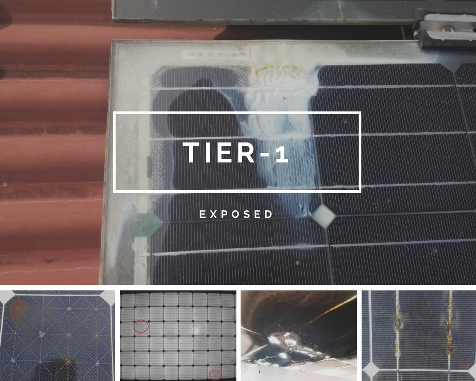 Tier-1 Solar Panels EXPOSED