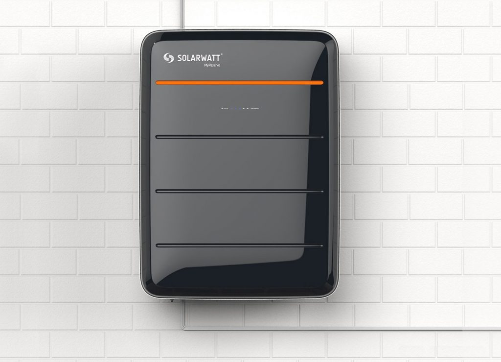 SolarWatt MyReserve European Solar Battery Storage