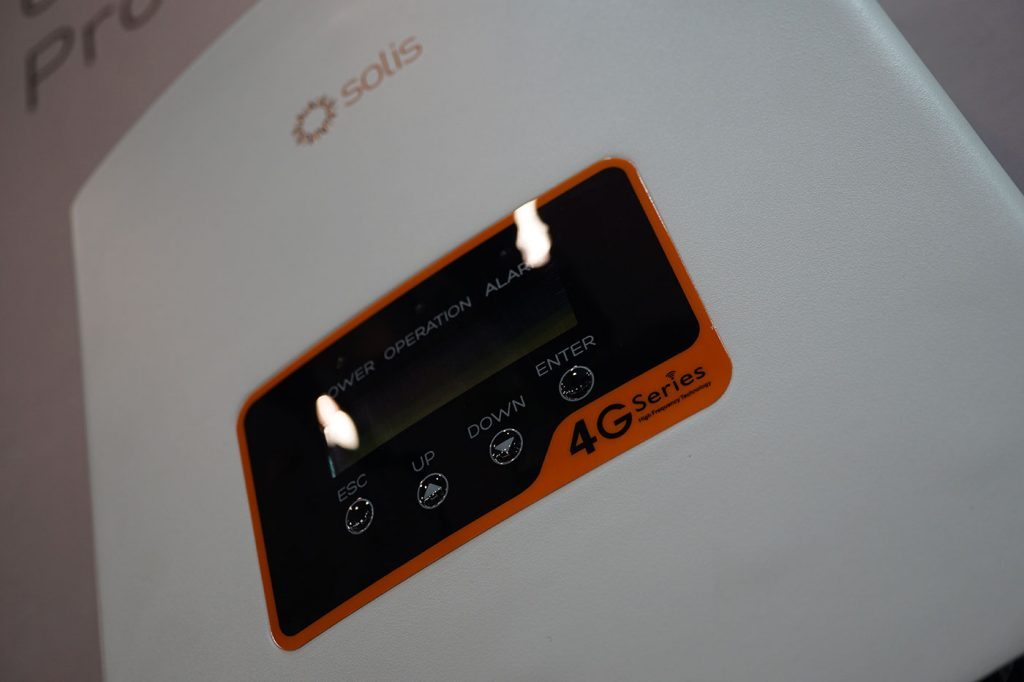 Solis 4G Single-Phase Inverter Image