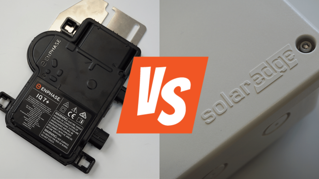 Enphase iQ7 vs SolarEdge HD-Wave